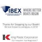 King Plastic IBEX 2015 Show