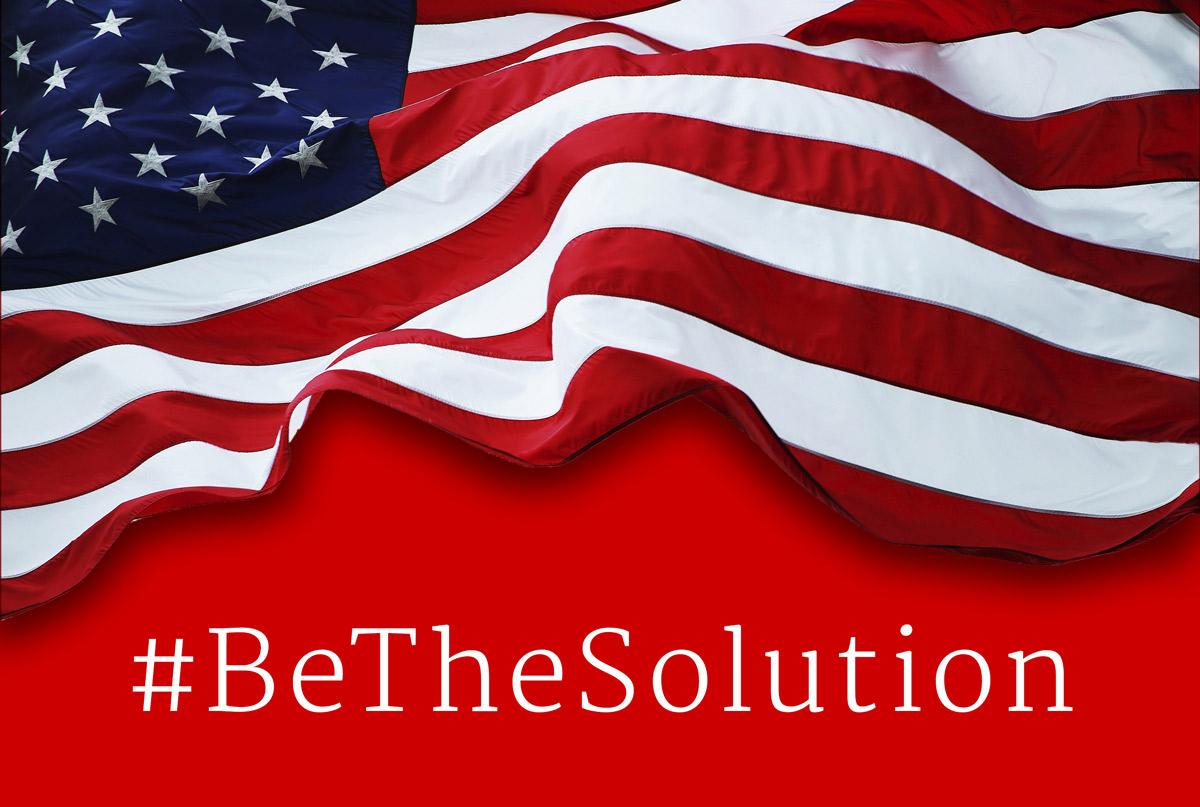 #BeTheSolution